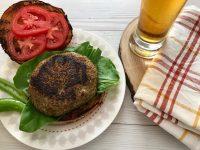 המבורגר עדשים בלחמניה 2