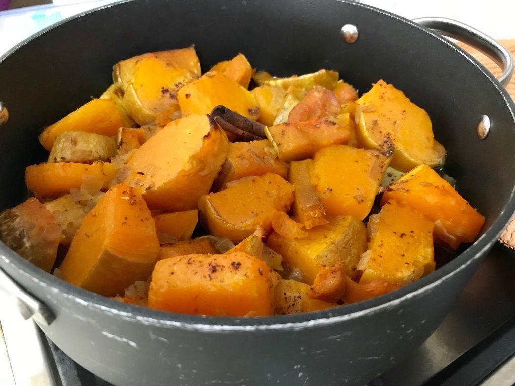 תבשיל דלעת בקינמון - מוכן