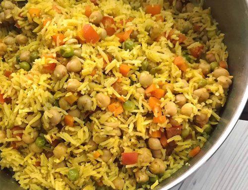 תבשיל אורז וחומוס – צ'אנה פלאו