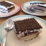 עוגת ביסקוויטים של סבתא טבעונית מוכנה