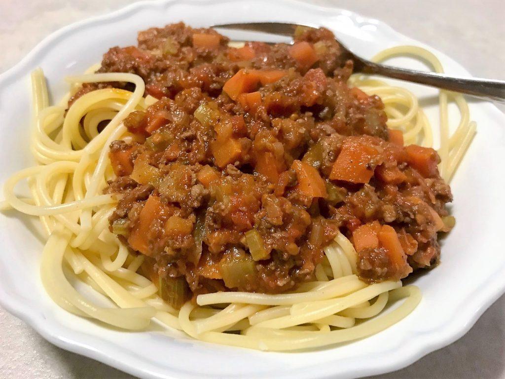 בולונז סויה על ספגטי