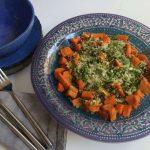 סלט קוסקוס עם ירקות כתומים 2
