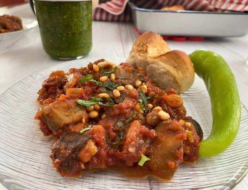 קפונטה – תבשיל חצילים סיציליאני